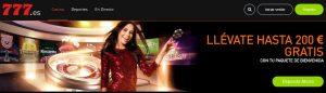 Casino 777 es uno de los mejores casinos online