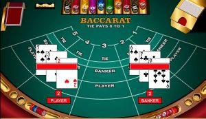 Cómo jugar baccarat online