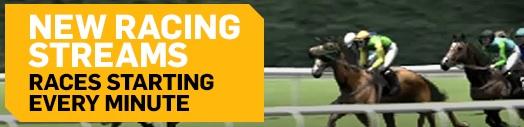 Las nuevas carreras con apuestas de caballos.