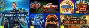 Juegos del casino