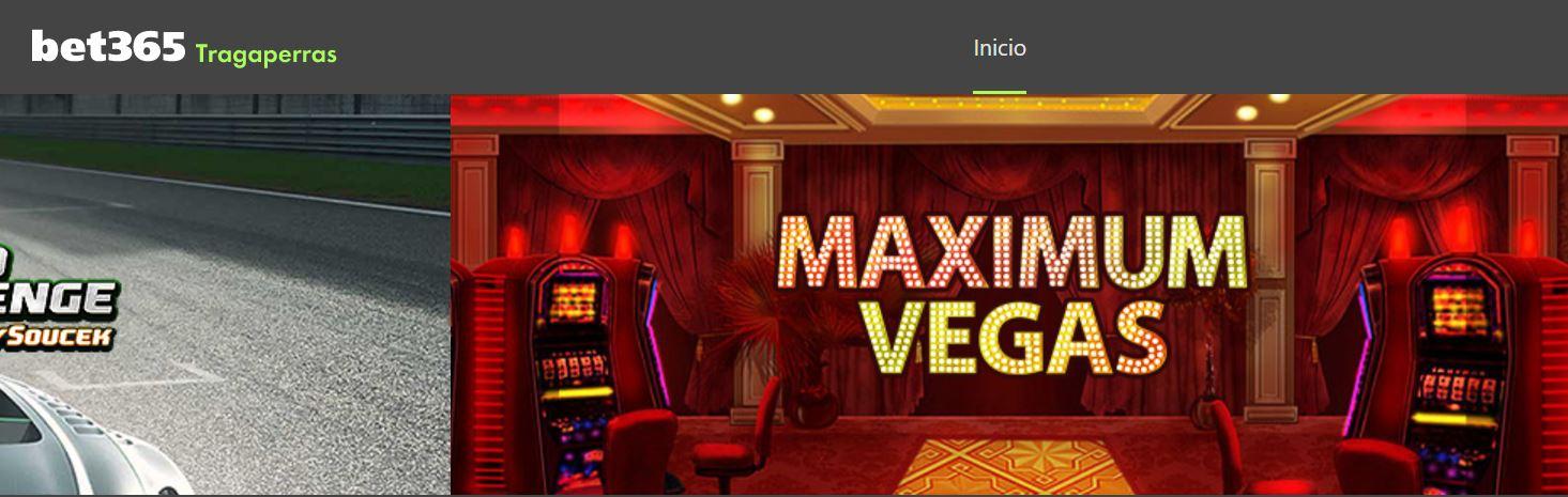 Es posible jugar a tragaperras en bet365 casino