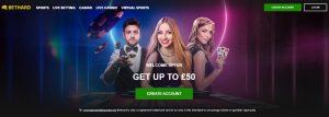 Bethard es uno de los mejores casinos online