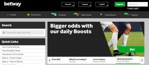 Betway es una de las mejores plataformas de apuestas online
