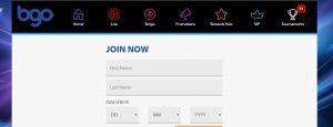 Cómo registrarse en el casino online BGO
