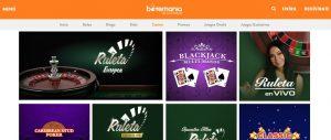 Juegos Disponibles en Casino Botemanía