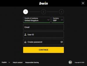 Retiro de ganancias de Bwin