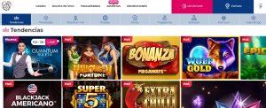 Juegos disponibles en Casino Gran Madrid