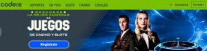 Codere es uno d elos mejores casinos online