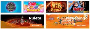 Comparación de los mejores casinos online