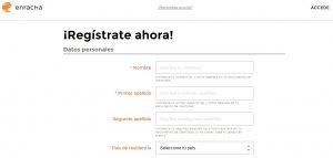 Cómo registrarse en el Casino online Enracha
