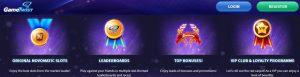 Características de GameTwist Casino Online