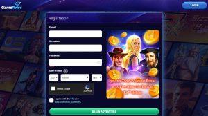 cómo registrarse en GameTwist casino online