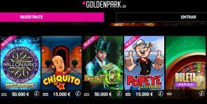 Jugar y ganar en el casino online GoldenPark