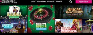 Juegos Disponibles En GoldenPark Casino