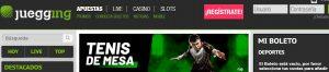 Juegging es una de las mejores plataformas de apuestas deportivas online