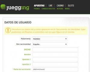 Cómo hacer apuestas deportivas online en Juegging