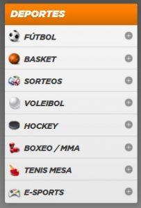 Deportes Disponibles para Apostar online en Kirolbet