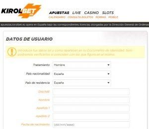 Cómo hacer apuestas deportivas online en Kirolbet