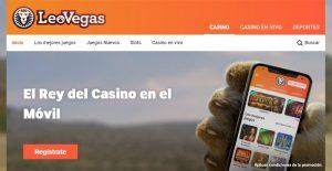 Leo Vegas es uno de los mejores casinos online