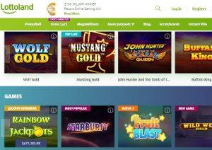 Juegos Disponibles en Lottoland Casino