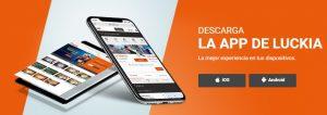 App móvil de casino online