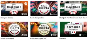 Juegos Disponibles En Luckia Casino