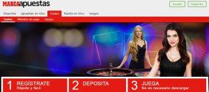 Marca Apuestas es uno de los mejores casinos online