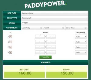 Reglas De Apuestas Deportivas Online en Paddy Power