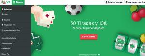 Paf es una de las mejores plataformas de apuestas deportivas online