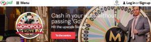 Bonos y promociones de Paf Casino Online