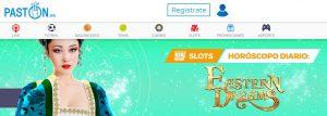 Paston es uno de los mejores casinos online