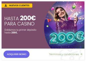 Bonos y promociones de RETAbet casino online
