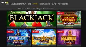 Juegos Disponibles en RETAbet Casino