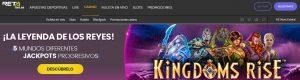 RETAbet es uno de los mejores casinos online