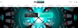 Sky Casino es una de las mejores plataformas online