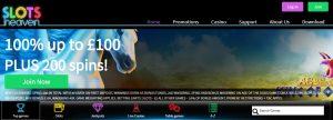 Bonos y promociones de Slots Heaven Casino