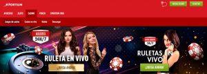 Bono de bienvenida de Sportium Casino online