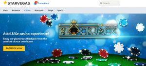 Starvegas es uno de los mejores casinos online