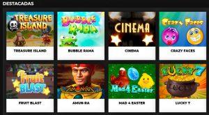 Juegos Disponibles en Suertia Casino