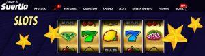 Bonos y promociones de Suertia Casino Online