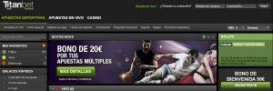 Titanbet es una de las mejores plataformas de apuestas deportivas online