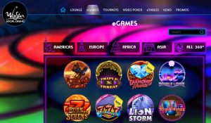 Juegos Disponibles en Winstar Casino