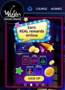 Bonos y promociones de Winstar Casino Online