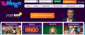 Bono de bienvenida de YoBingo casino online