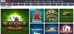 Juegos Disponibles en Netbet Casino