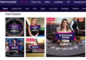 Los mejores juegos de Casino en Vivo