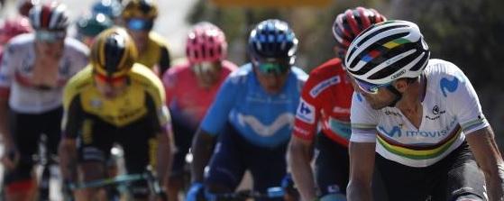 Los ciclistas compiten y tu también apoyándolos en las casas de apuestas.